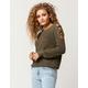 FULL TILT Lattice Shoulder Womens Sweater