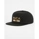 RVCA Legacy Mens Snapback Hat
