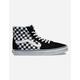 VANS Checkerboard Sk8-Hi Black & True White Shoes