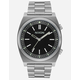 NIXON Brigade Black & Silver Watch