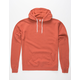 INDEPENDENT TRADING COMPANY Rust Mens Hoodie