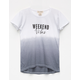 SKY AND SPARROW Weekend Vibes Girls Tee