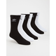 ADIDAS 6 Pack Originals Trefoil Boys Crew Socks