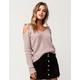 IVY & MAIN Tie Shoulder Womens Sweater