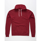 INDEPENDENT TRADING COMPANY Burgundy Mens Hoodie