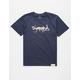 DIAMOND SUPPLY CO. Leopard OG Diamond Script Boys T-Shirt