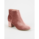 CITY CLASSIFIED Velvet Womens Booties
