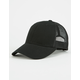 Solid Cotton Womens Trucker Hat