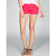 RSQ Raw Edge Cuff Womens Denim Shorts