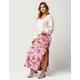SKY AND SPARROW Tie Dye Maxi Skirt