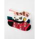 VANS 3 Pack Brekkie Girls Canoodle Socks