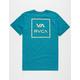 RVCA Grid All The Way Mens T-Shirt