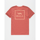 RVCA Grid All The Way Mens T-Shirt