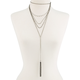 FULL TILT Layered Pearl Tassel Necklace