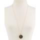 FULL TILT Glitter Pendant Necklace
