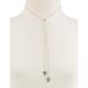 FULL TILT Rhinestone Triangle Slider Necklace