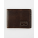 RVCA Brown Dispatch Wallet