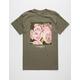 LA FAMILIA Pink Rose Box Mens T-Shirt