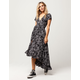 LIRA Arabella Wrap Maxi Dress
