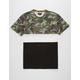 ASPHALT Camo Triblock Mens T-Shirt