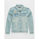 ELWOOD Truck Stop Boys Ripped Denim Jacket