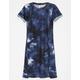 SKY AND SPARROW Tie Dye Girls T-Shirt Dress