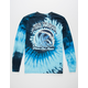 PINK DOLPHIN Wave Over Flames Mens T-Shirt