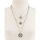 FULL TILT Layered Medallion Necklace