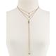 FULL TILT Gold Drops Necklace