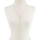 FULL TILT Diamond Lariat Necklace