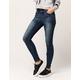 VANILLA STAR Premium Seamed Womens Skinny Jeans