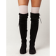 FULL TILT 3 Pack Lurex Knee High Socks