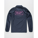 HUF Bar Logo Mens Coach Jacket
