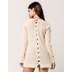 FULL TILT Essential Lace Up Back Womens Cardigan