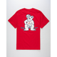 GRIZZLY x CHAMPION Leader Of The Pack Mens T-Shirt