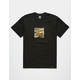 HUF Ambush Camo Box Logo Mens T-Shirt