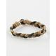 BLUE CROWN Braided Bracelet