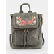 VIOLET RAY Embroidered Kendall Mini Backpack