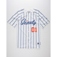 GRIZZLY x CHAMPION Out of Left Mens Baseball Jersey