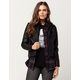 FULL TILT Layered Womens Faux Leather Jacket