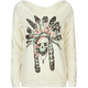 FULL TILT Skull Chief Womens Sweatshirt