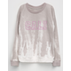 WHITE FAWN Cali Tie Dye Girls Sweatshirt