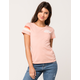 RIP CURL Sun Stoned Womens Pocket Tee