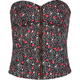 FULL TILT Floral Print Womens Tube Top