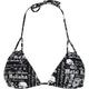 METAL MULISHA Scribble Womens Swimsuit Top