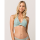 FULL TILT Haley Teal Green Lace Bralette