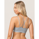 Grey High Neck Bralette