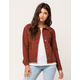 SKY AND SPARROW Destructed Womens Jacket