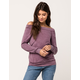 SKY AND SPARROW Off The Shoulder Womens Sweatshirt