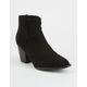 QUPID Gored Womens Chelsea Boots